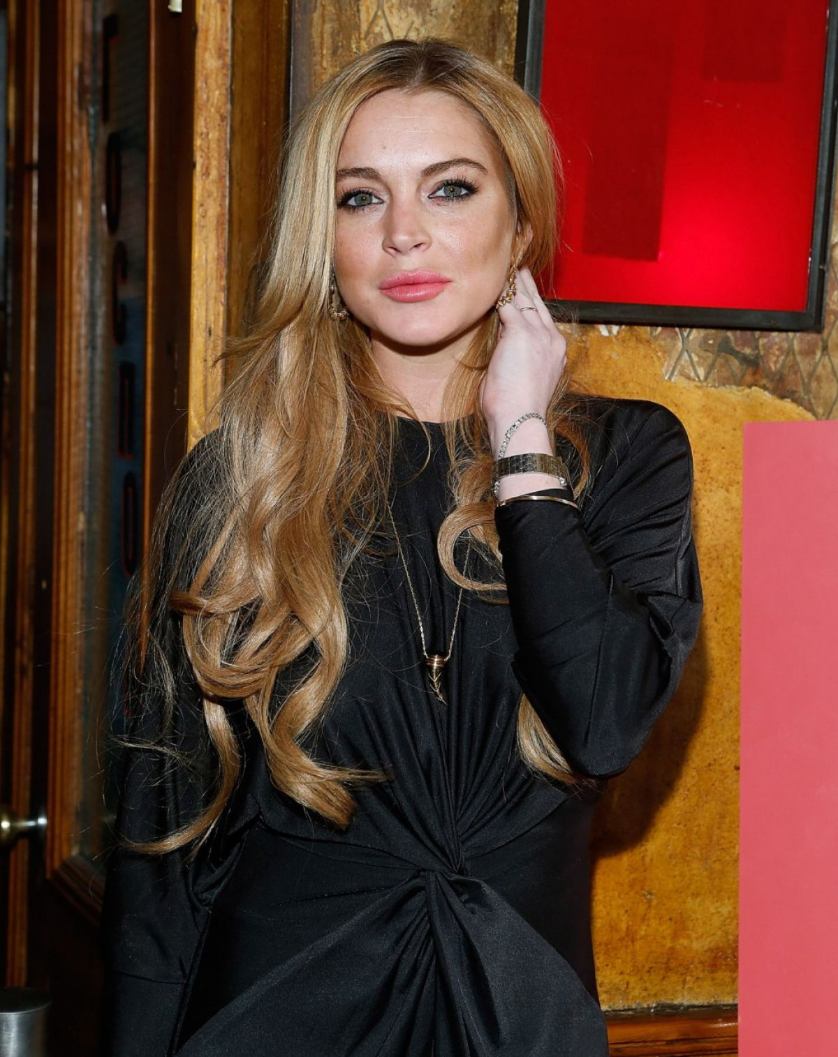 Lindsay Lohan At Just Sing It App Launch Event In New York