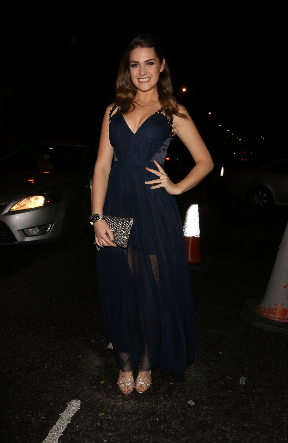 Nikki Sanderson And Jessica Fox At Hollyoaks Christmas Party In ...