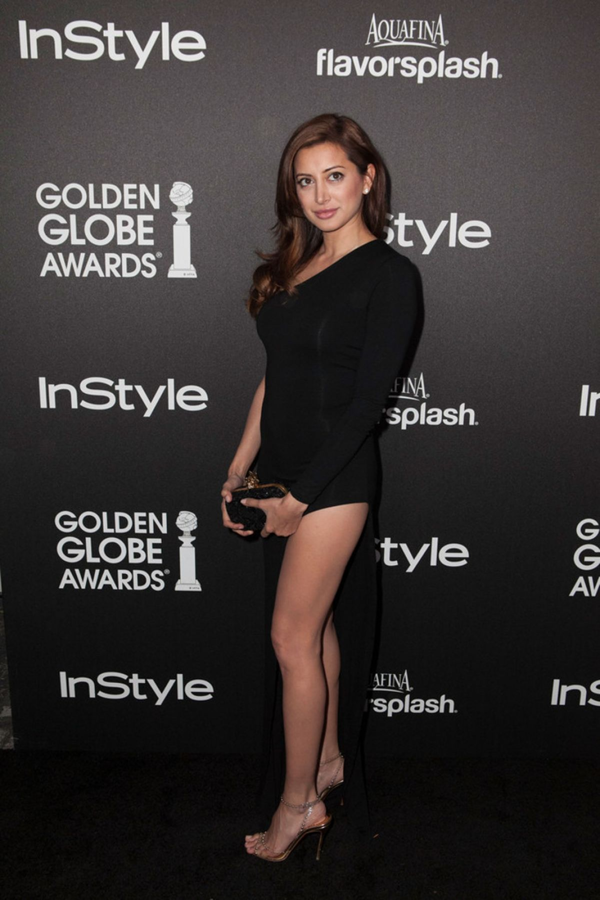 Noureen DeWulf At Golden Globe Awards Season Celebration ...