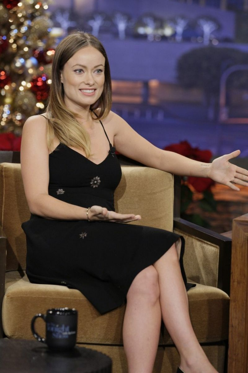 Olivia Wilde Appears On The Tonight Show With Jay Leno