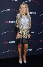 Alexa Goddard At Roc Nation Pre-Grammy Brunch In Beverly Hills