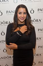 Aly Raisman At PANDORA At Oakbrook Center In Chicago