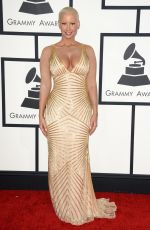 Amber Rose At 56th annual Grammy Awards