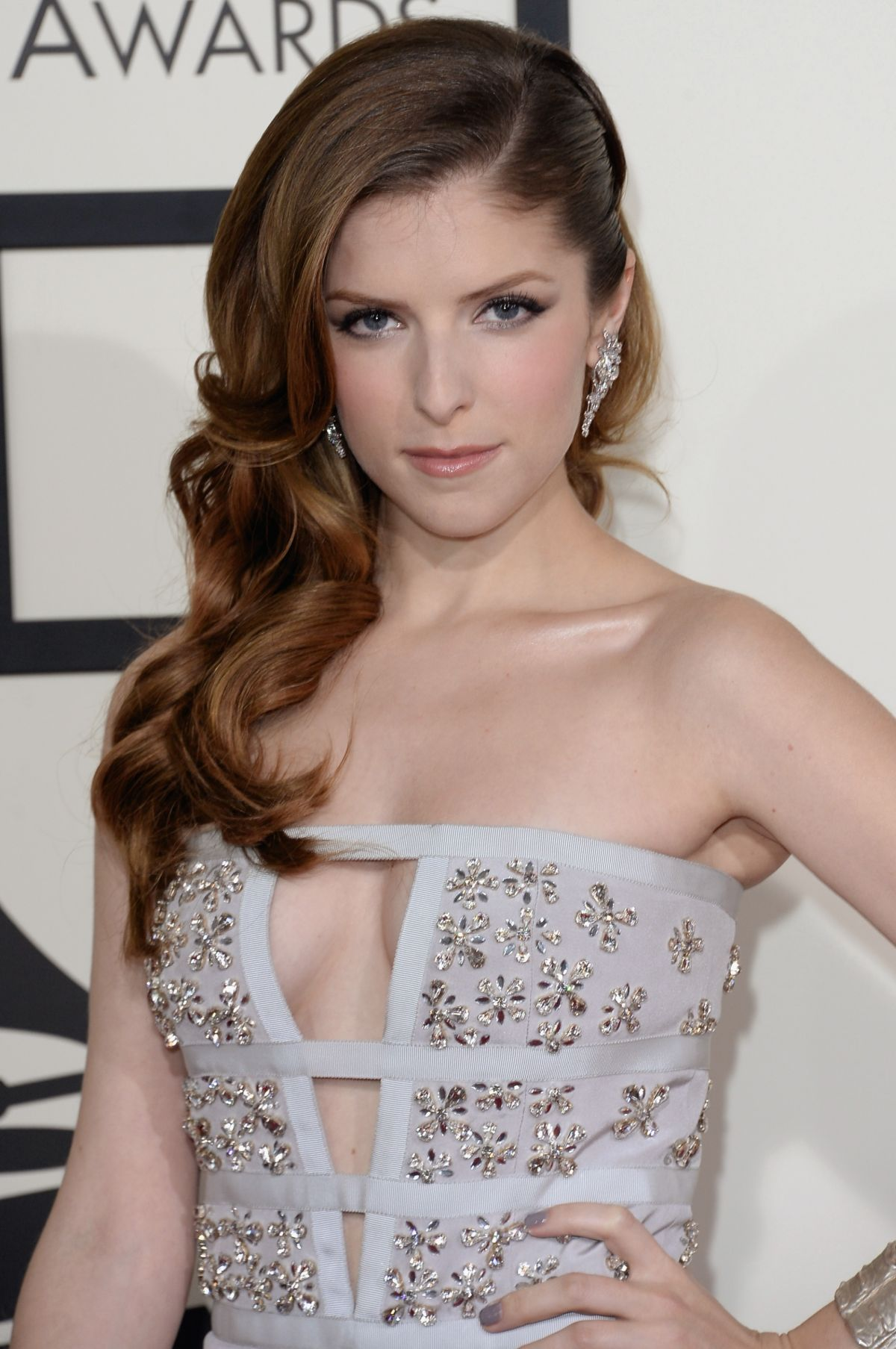 Anna Kendrick At The 56th Annual GRAMMY Awards - Celebzz ... Anna Kendrick