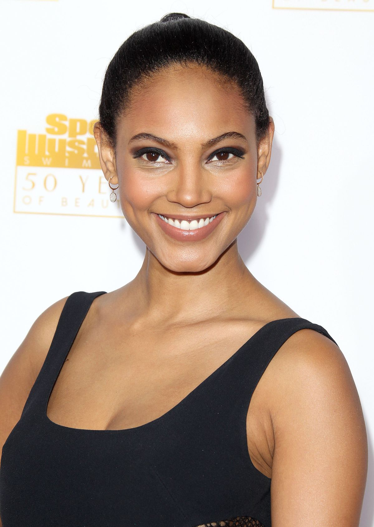 Ariel Meredith At 50th Anniversary Of The SI Swimsuit Issue Celebration In Hollywood