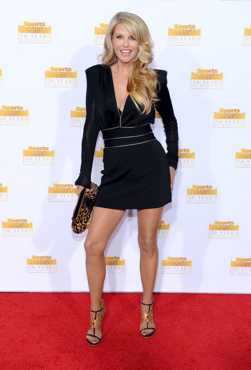 Christie Brinkley At 50th Anniversary Of The Si Swimsuit