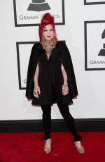 Cindy Lauper At The 56th Annual GRAMMY Awards