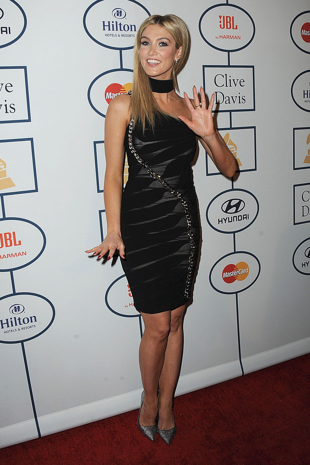 Delta Goodrem Attending Clive Davis Pre-Grammy Gala And Salute To Industry Icons