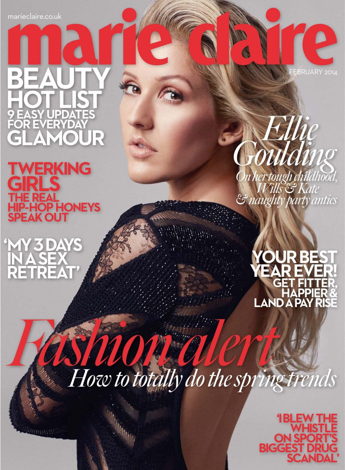 Ellie Goulding At Marie Claire UK