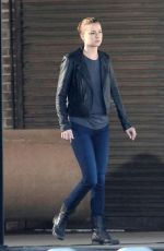 Emily VanCamp On The Set Of