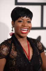 Fantasia Barrino At 56th annual Grammy Awards