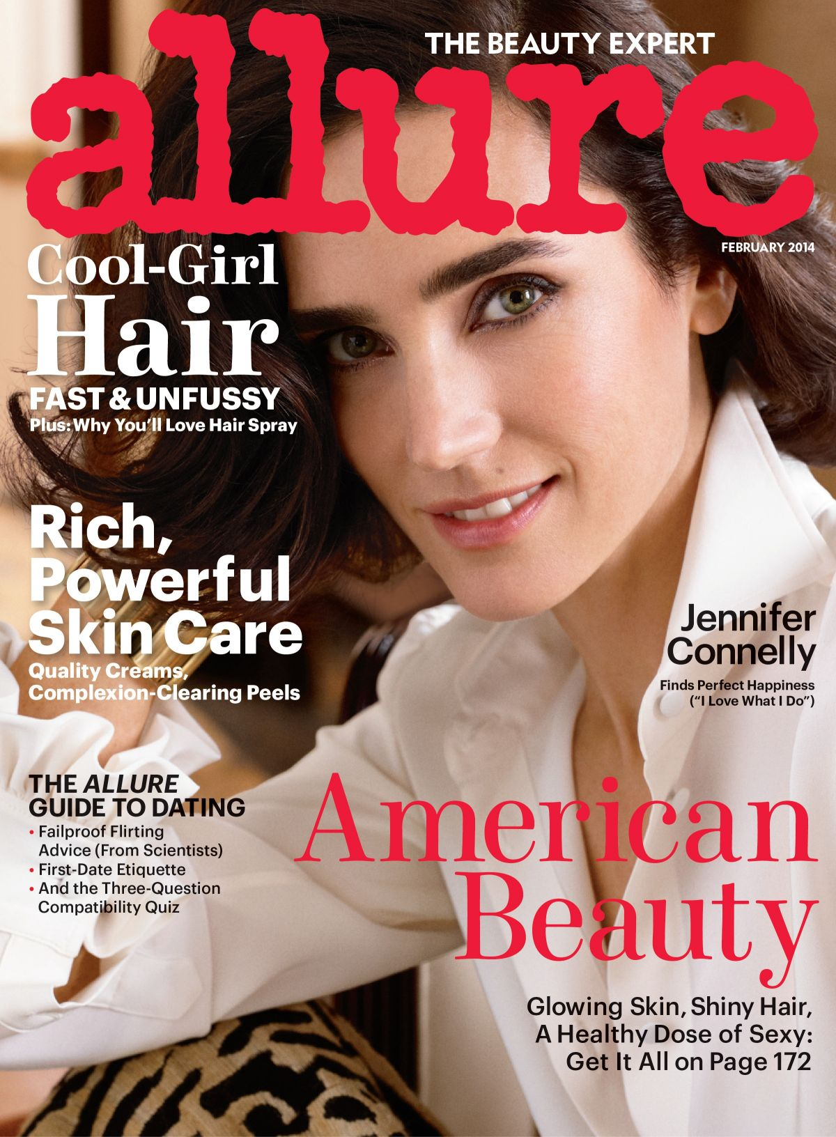 Jennifer Connelly At Allure Magazine February 2014