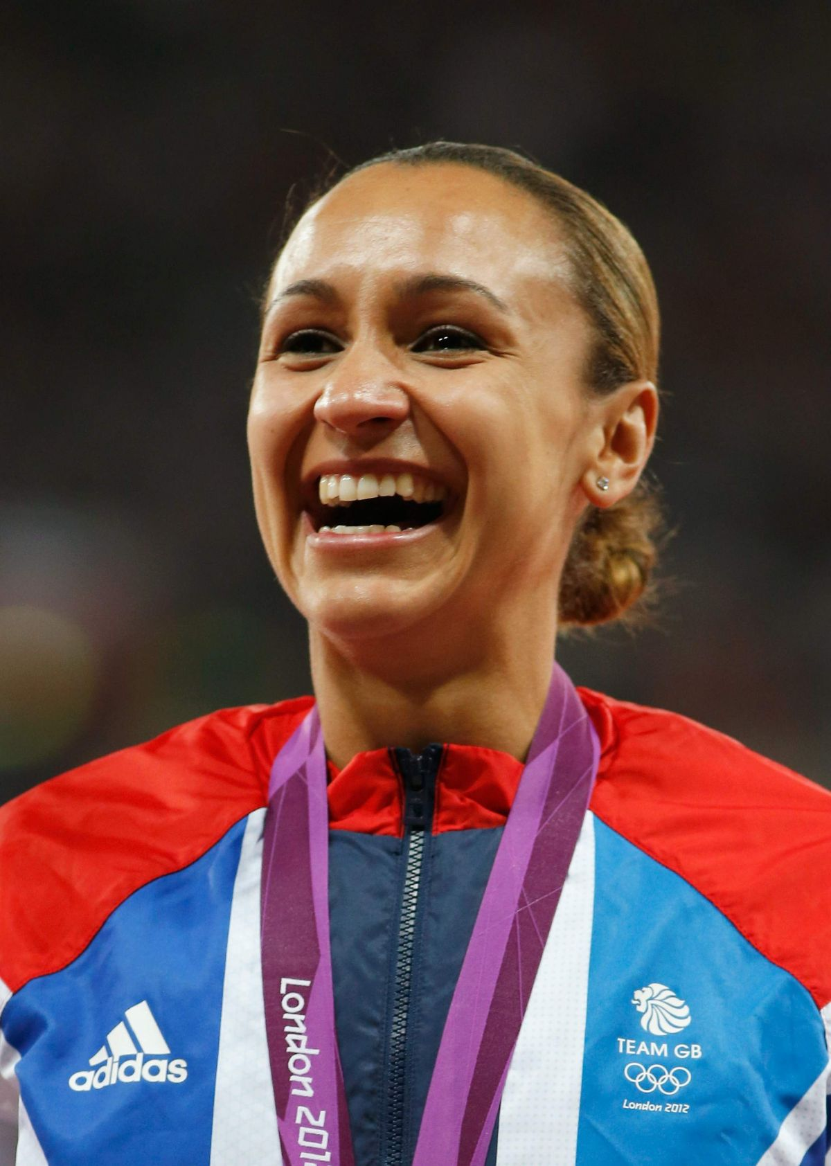 Jessica Ennis During The 2012 Olympics In London