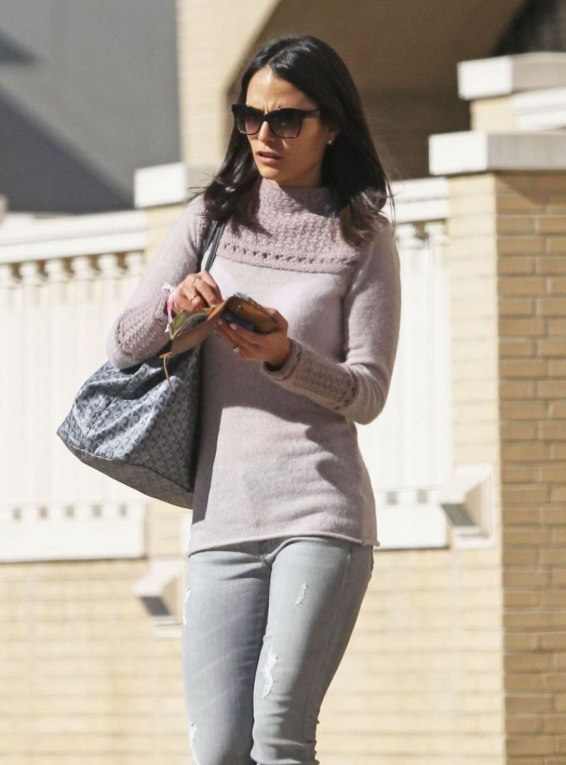Jordana Brewster Out In Beverly Hills