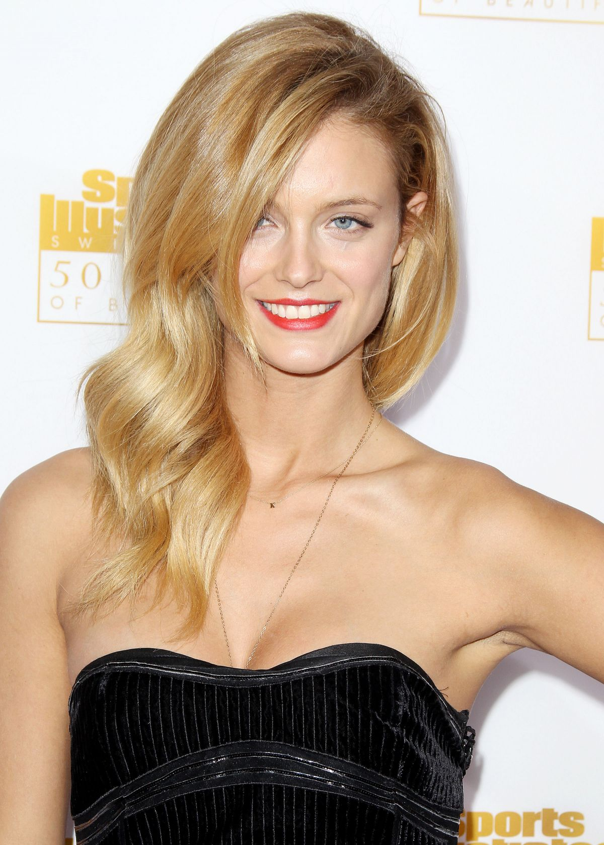 Kate Bock At 50th Anniversary Of The SI Swimsuit Issue Celebration In Hollywood