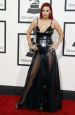 Kaya Jones At The 56th Annual GRAMMY Awards