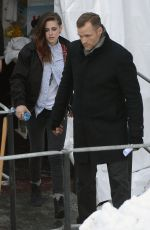 Kristen Stewart Out & About In Park City