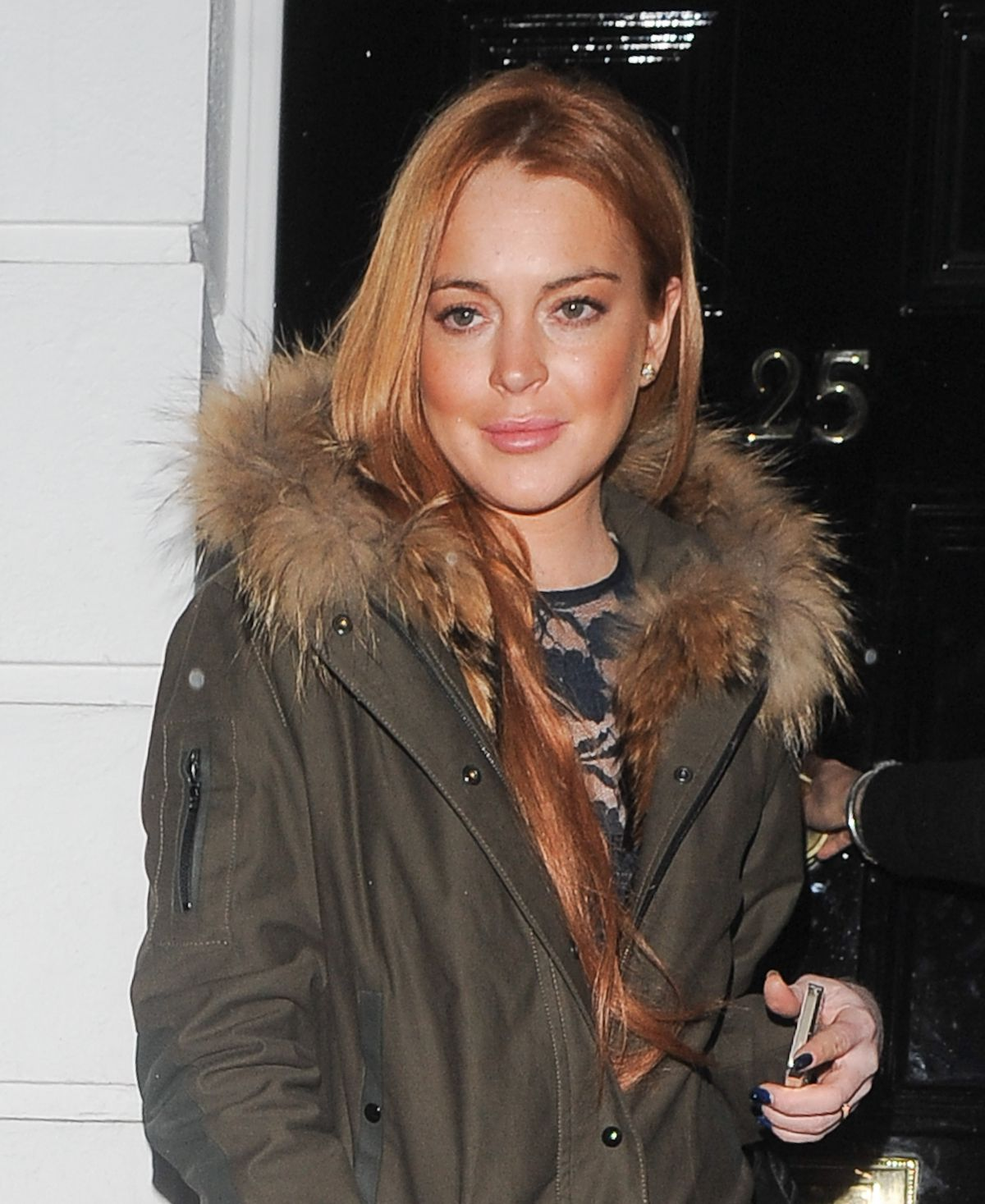 Lindsay Lohan Out & About In London