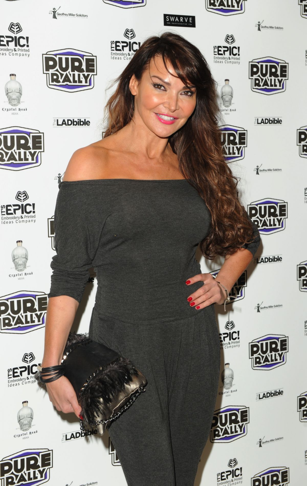Lizzie Cundy At 2014 Super Car Rally Launch At Millennium Mayfair Hotel In London