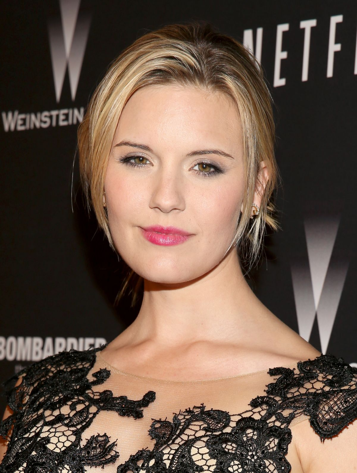 Maggie Grace At The Weinstein Company & Netflix Golden Globes After Party