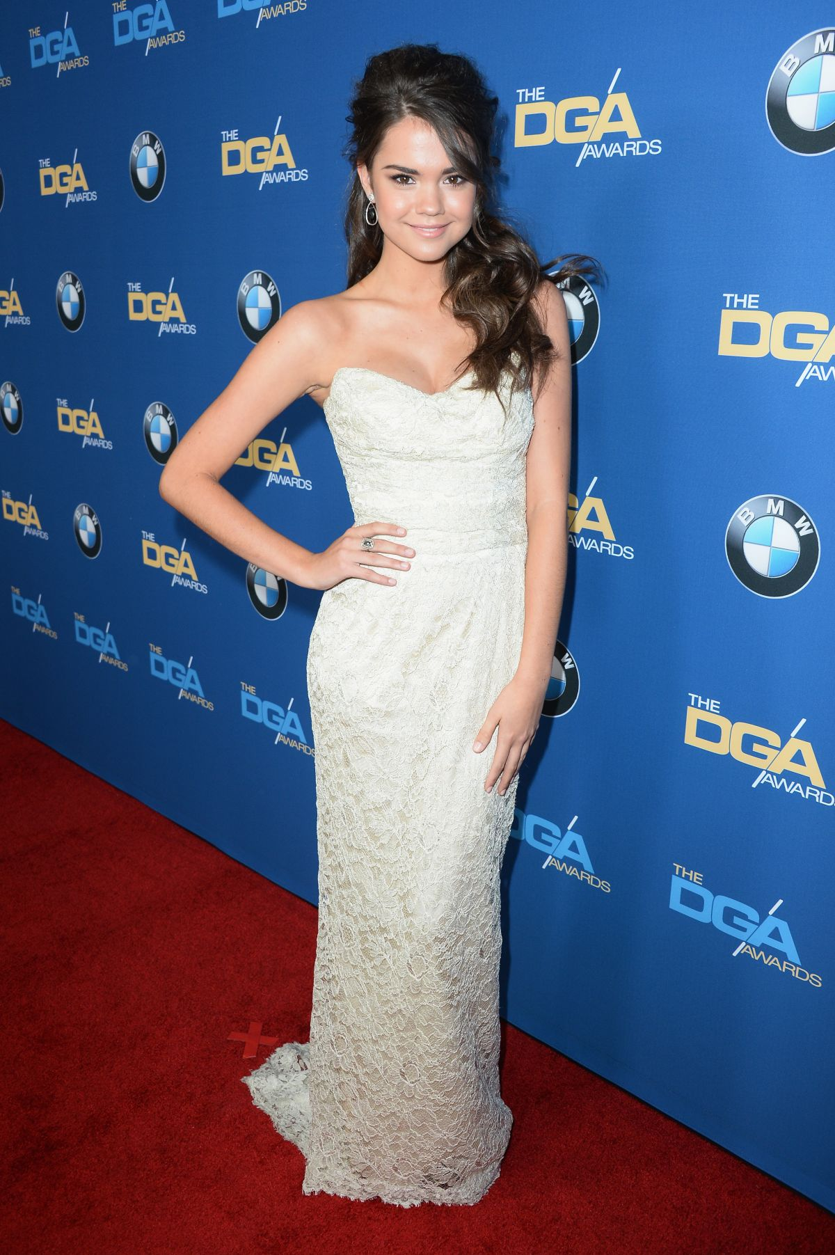Maia Mitchell At 66th Annual Directors Guild Of America Awards In Century City