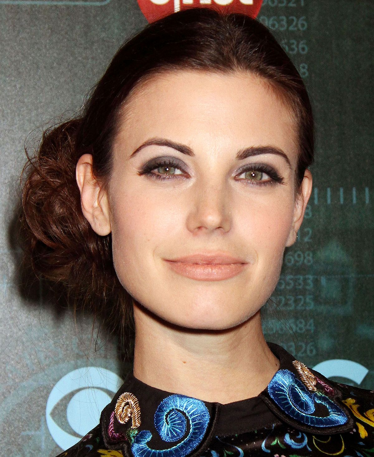 Meghan Ory At CBS Television Presents CNET