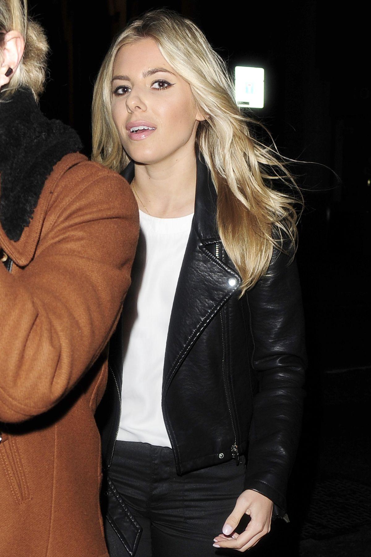 Mollie King Enjoying A Night Out In London