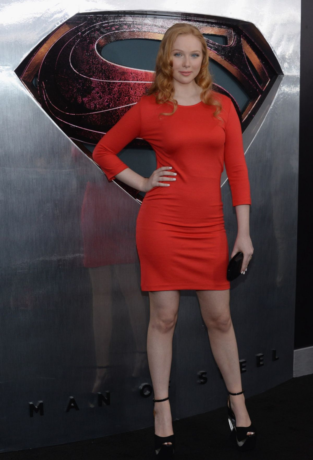 Molly Quinn Facebook Molly Quinn at 'man of Steel'