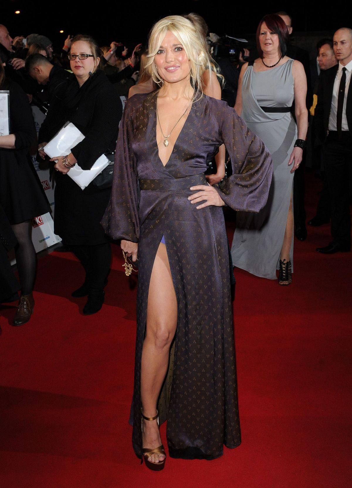 Rachel Wilde At National Television Awards In London