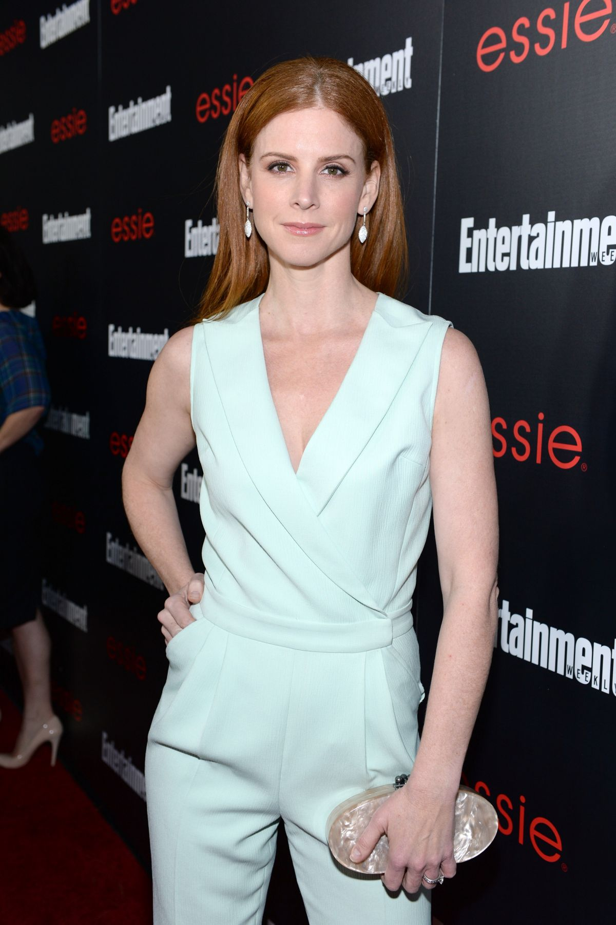 Sarah Rafferty At Entertainment Weekly Celebration Honoring This Year