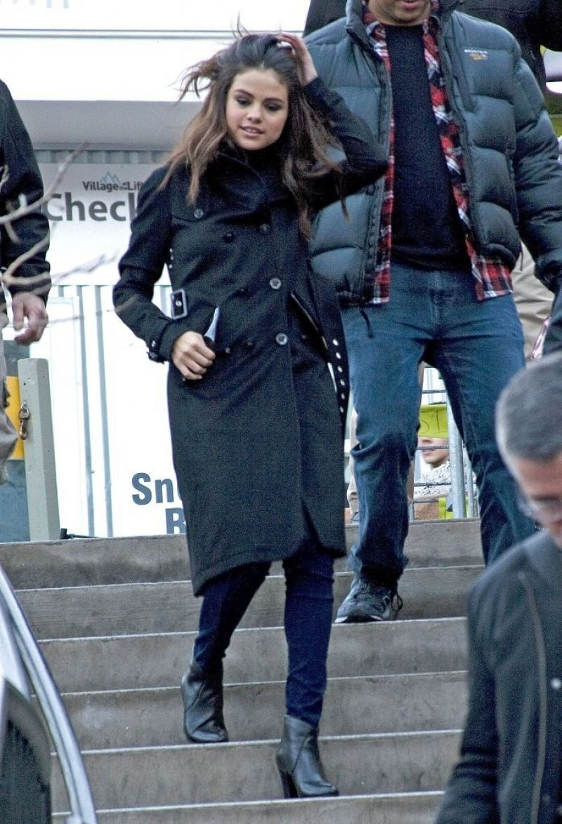 Selena Gomez Out And About In Park City