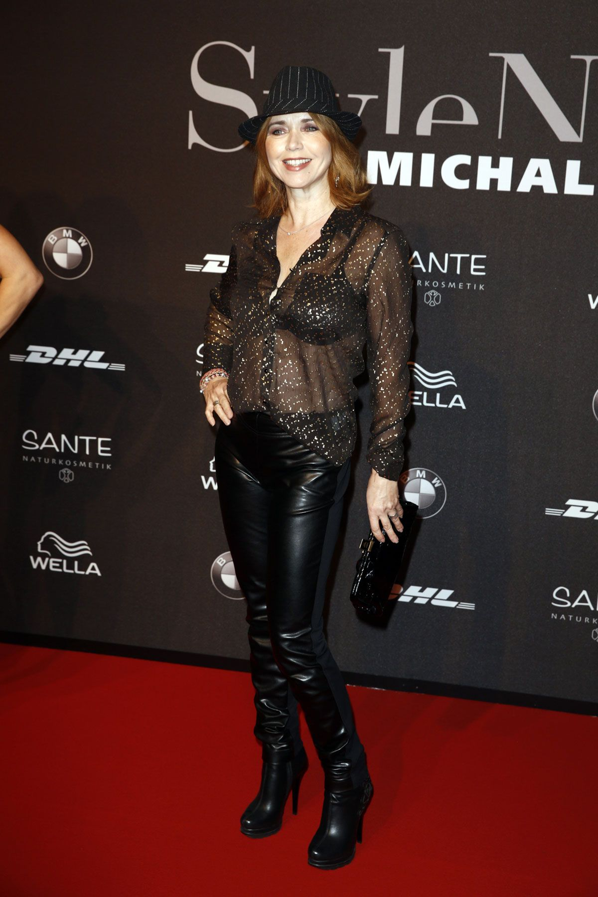 Tina ruland at mercedes benz fashion week in berlin celebzz for Mercedes benz fashion