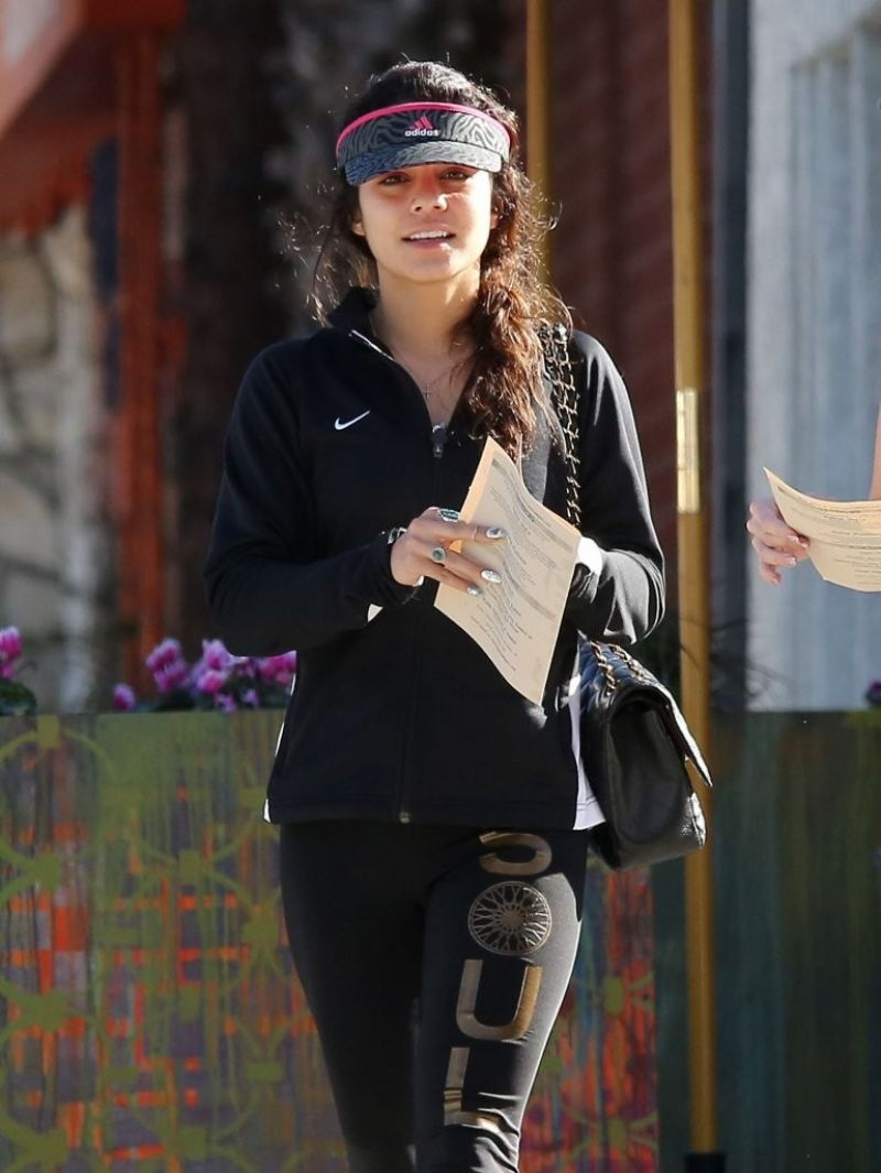 Vanessa Hudgens Out For A Hike In Los Angeles