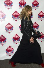 Abbey Clancy At NME Awards At Brixton Academy In London