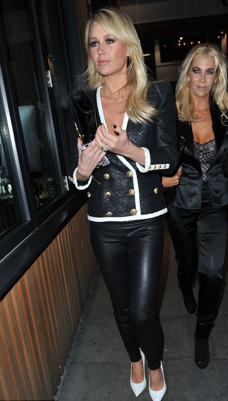 Alex Gerrard Seen Heading Home After A Night Out In Manchester