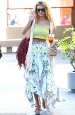 Annalynne McCord At The Newsroom In Beverly Grove