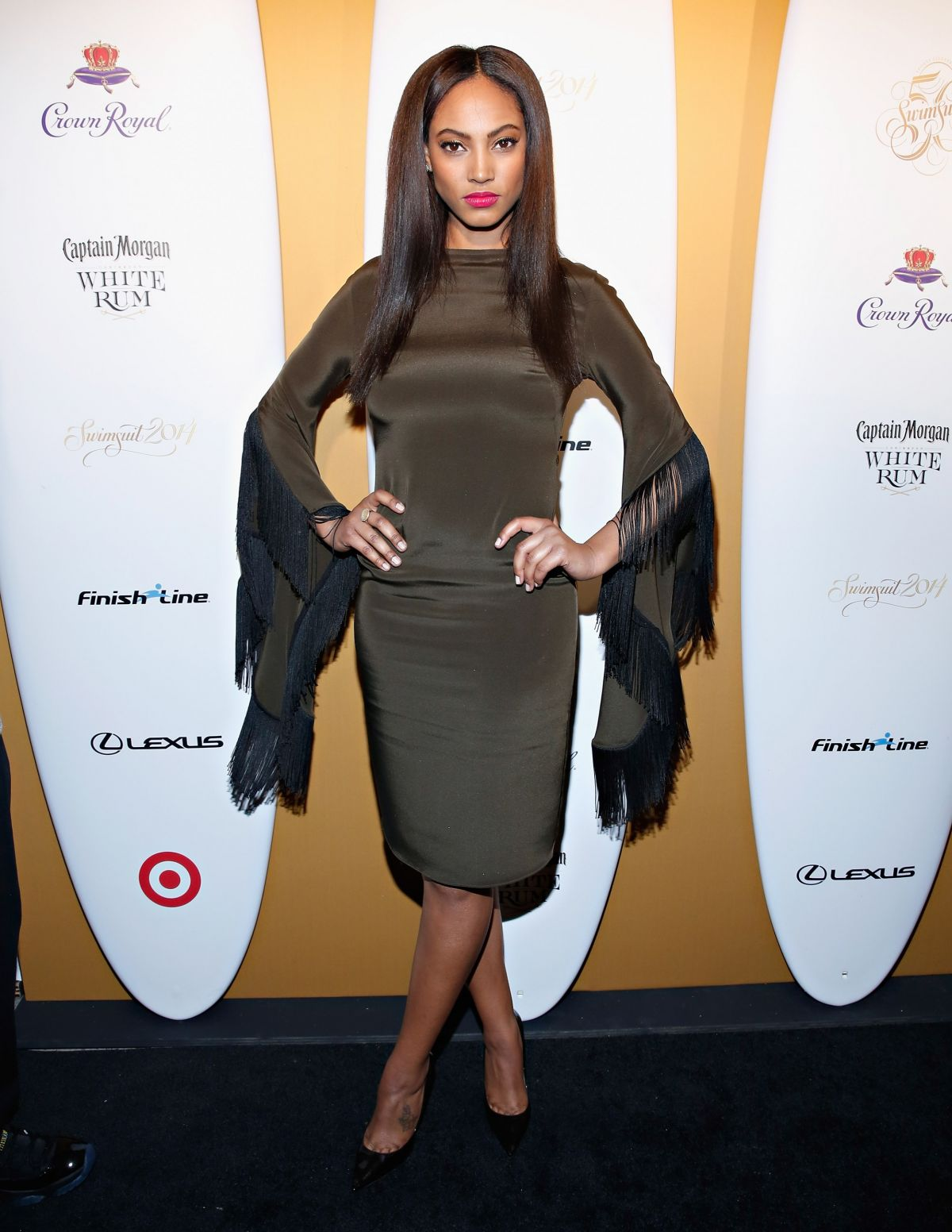 Ariel Meredith At Sports Illustrated Swimsuit Issue Kick Off Event