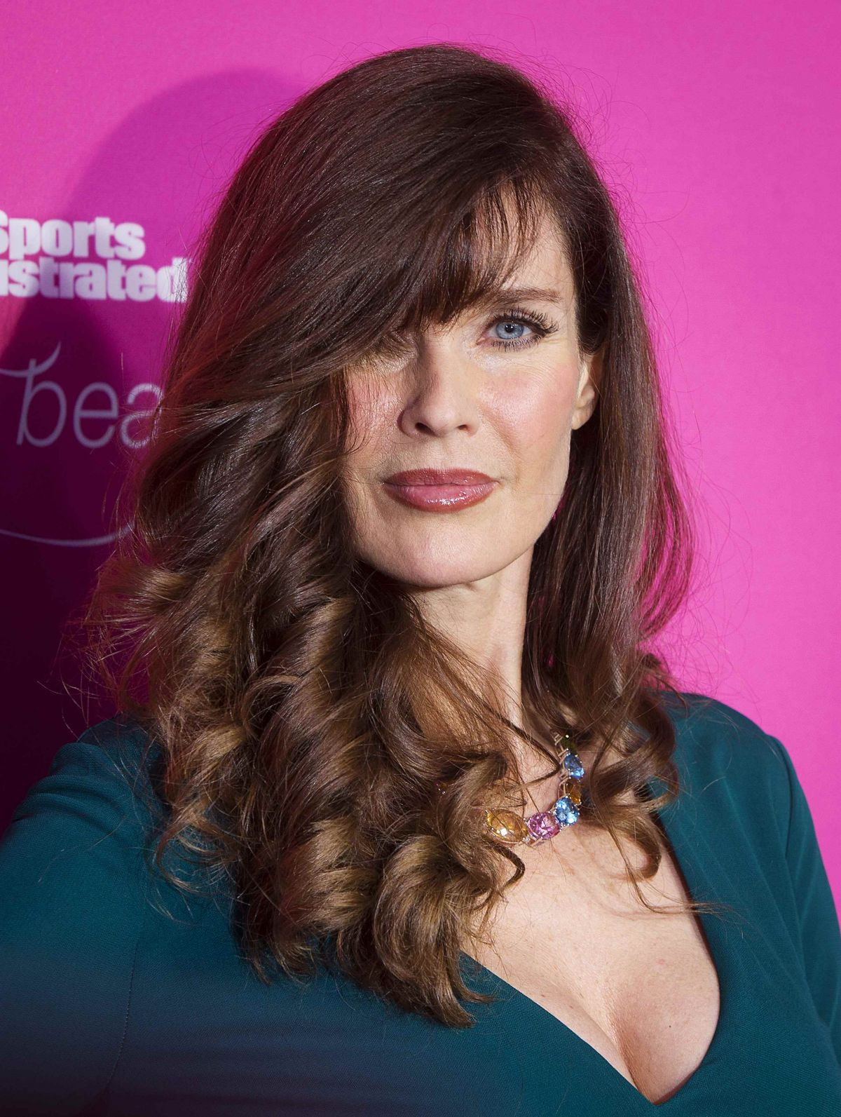 Carol Alt At Sports Illustrated Swimsuit 50th Anniversary Party
