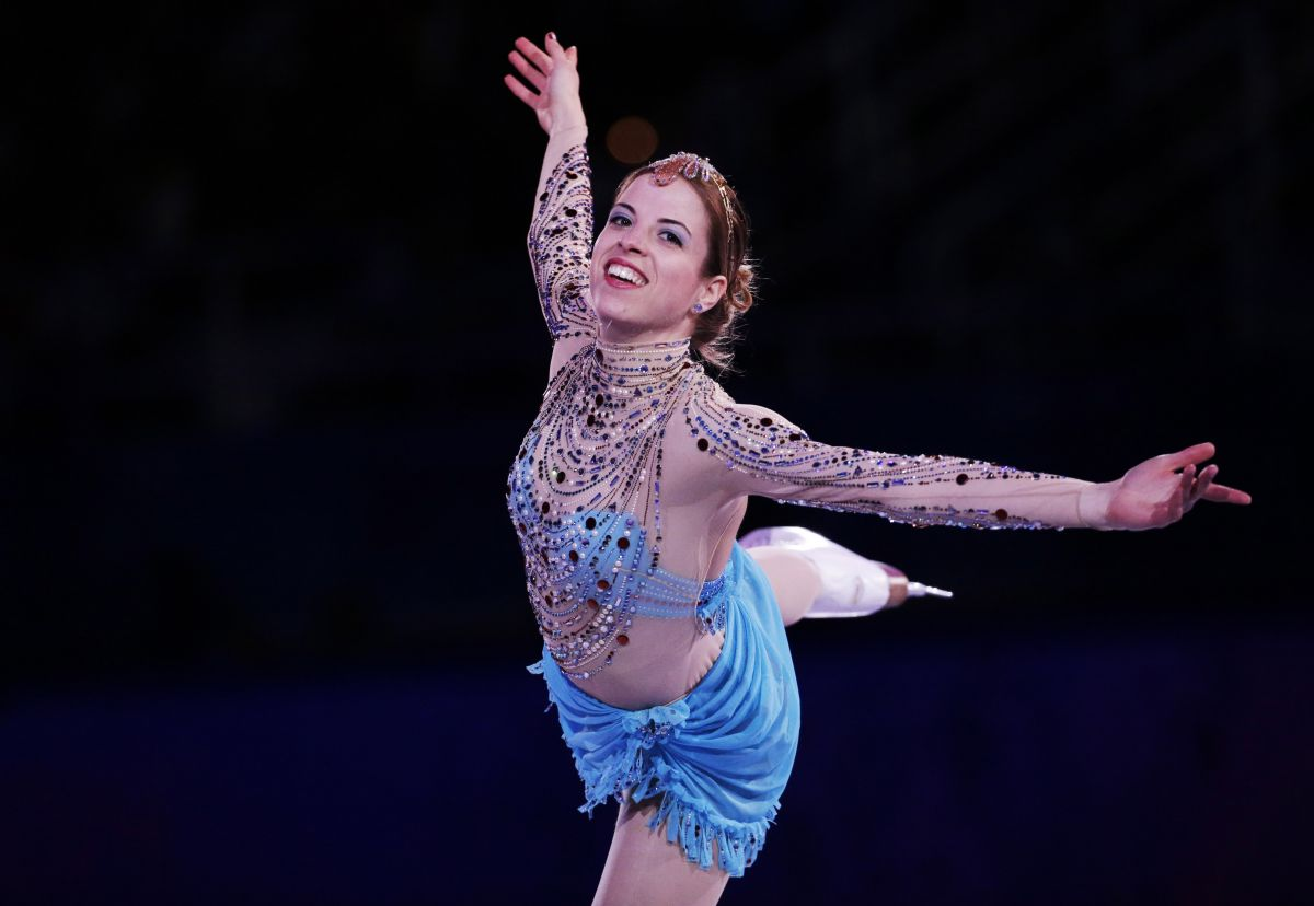 Carolina Kostner At Sochi Winter Olympics Adds