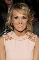 Carrie Underwood At Peter Som Fashion Show In NYC