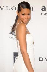 Chanel Iman At 2014 amfAR New York Gala