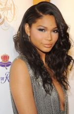 Chanel Iman At Sports Illustrated Swimsuit 50 Years Of Swim Celebration