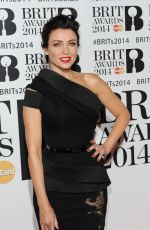 Dannii Minogue At The BRIT Awards 2014 At The 02 Arena In London