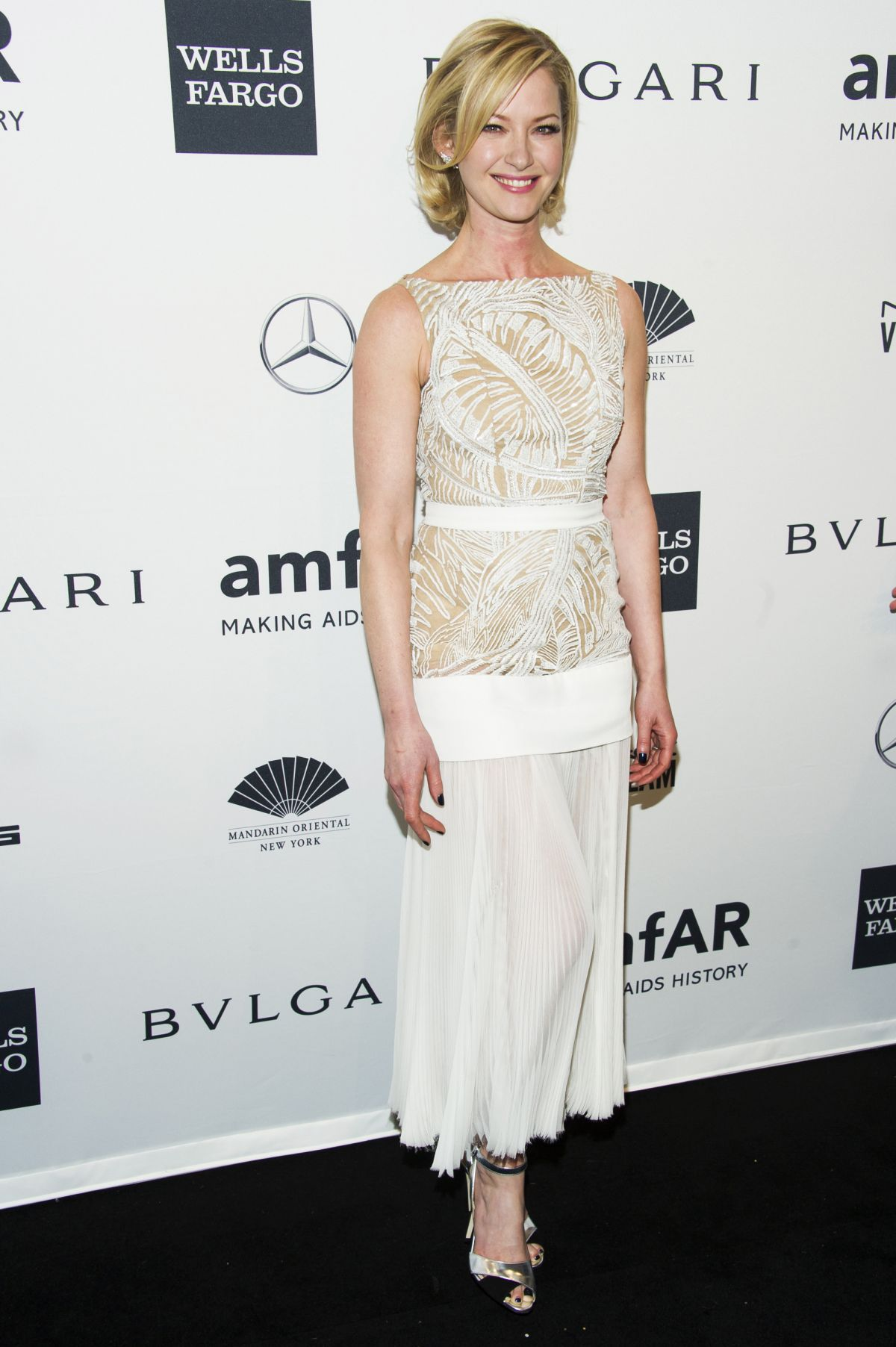 Gretchen Mol At amfAR New York Gala