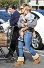 Hilary Duff At Gelson