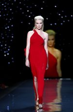 Ireland Baldwin At Go Red For Women The Heart Truth Red Dress Fashion Show In NY