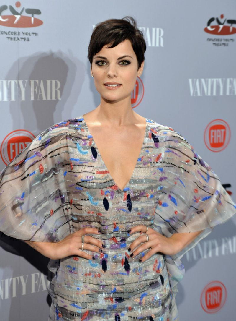Jaimie Alexander At Vanity Fair & FIAT Young Hollywood In Los Angeles