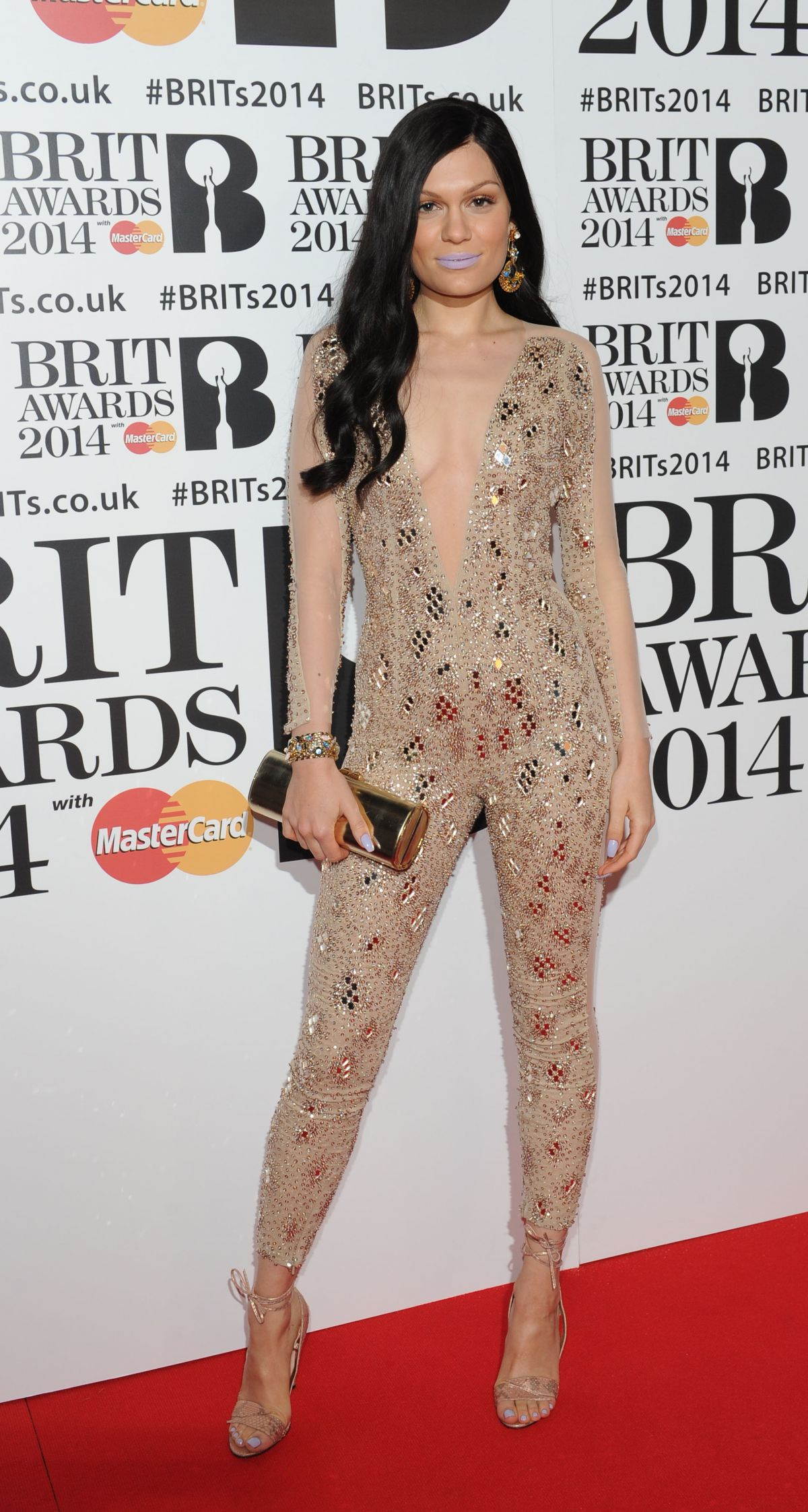 Jessie J At The BRIT Awards 2014 At The 02 Arena In London