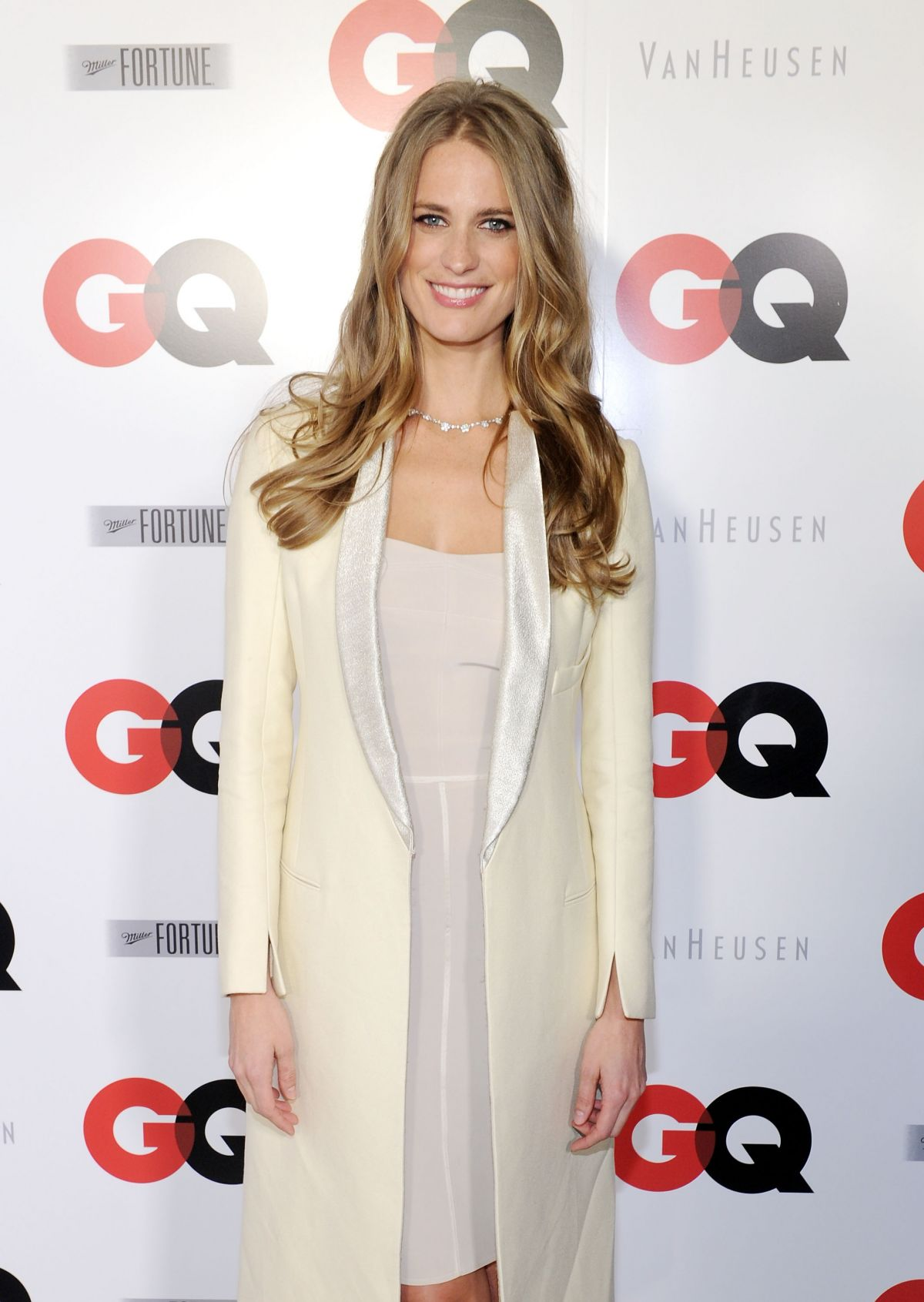 Julie Henderson Attending The GQ Super Bowl Party In New York City