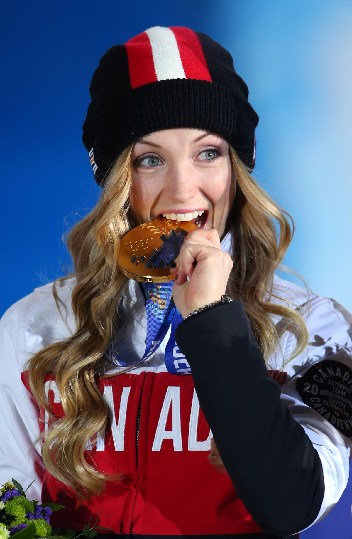Justine Dufour-Lapointe At 2014 Sochi Winter Olympics ... Victoria Beckham